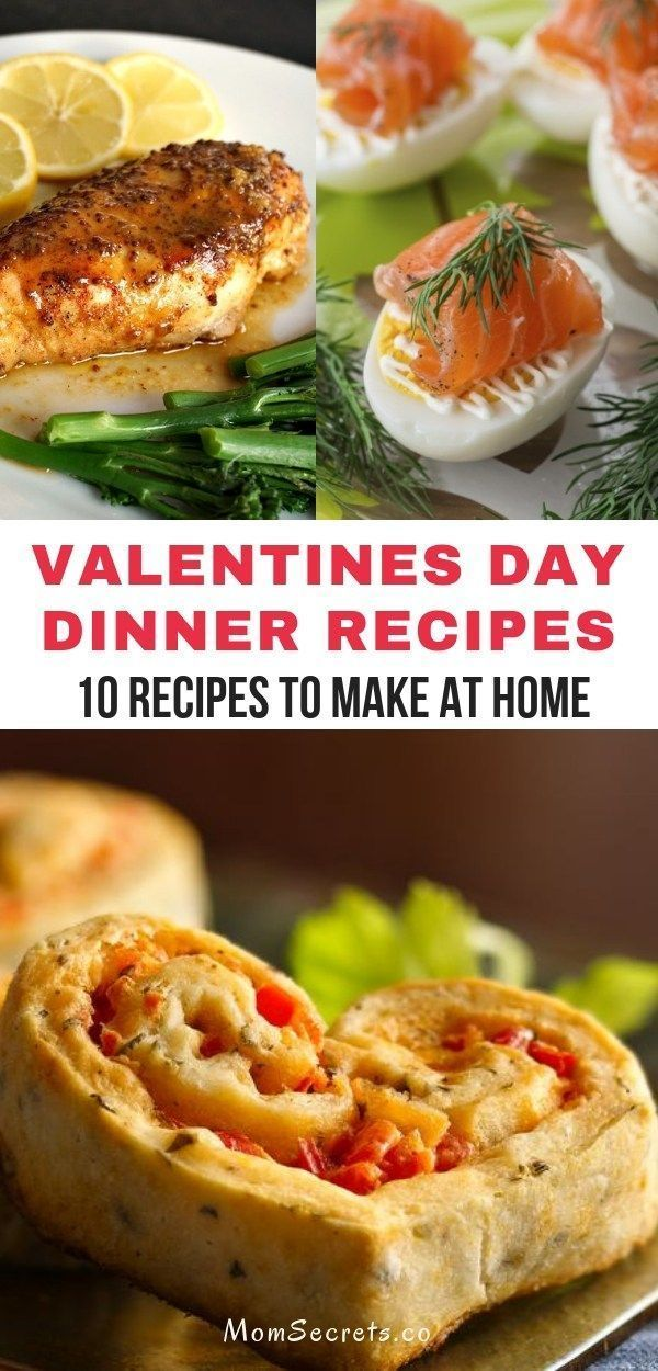 Photo of Valentines Day Dinner Ideas – 10 Recipes To Make at Home