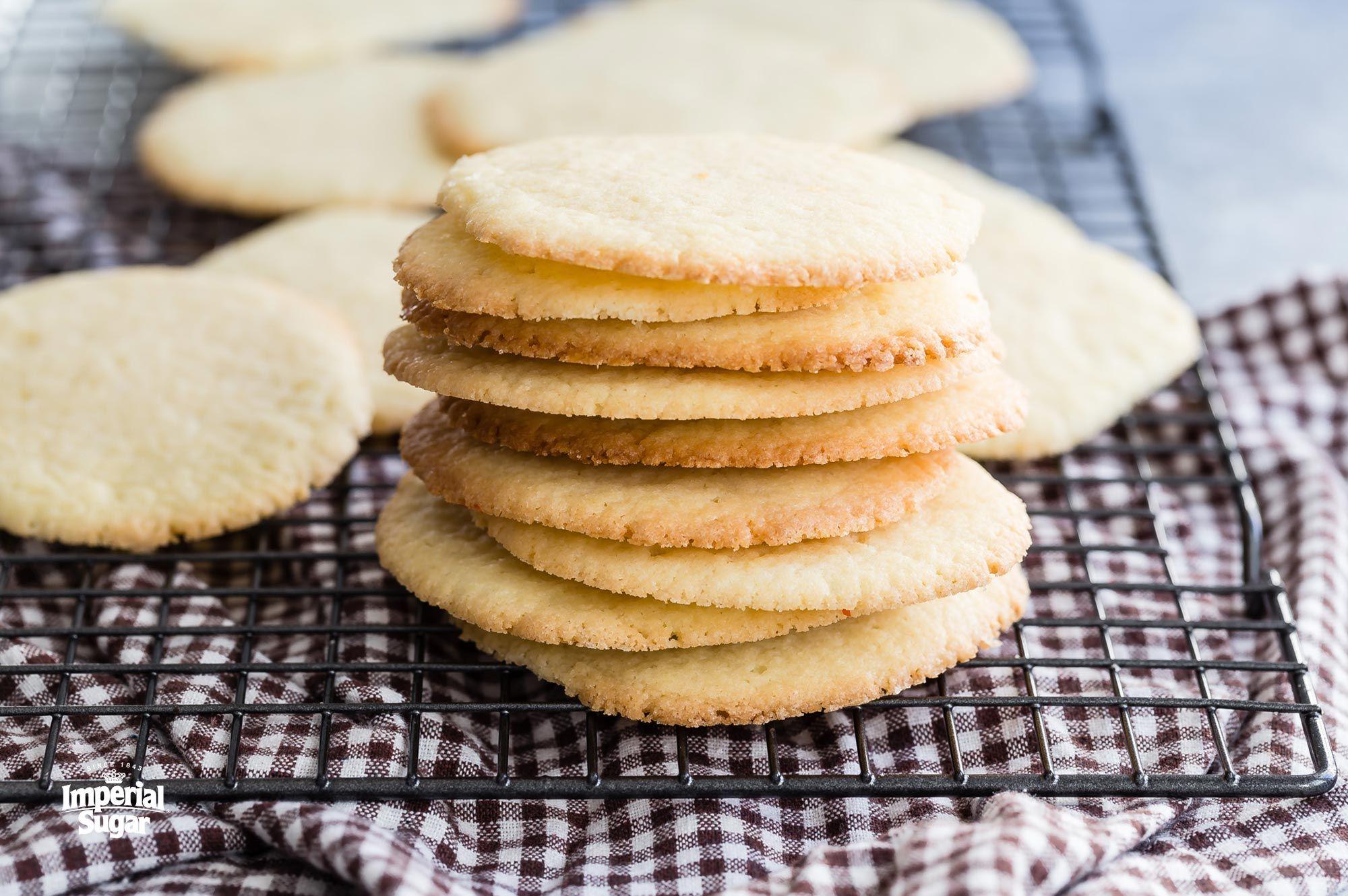 Easy Butter Sugar Cookies   Imperial Sugar #cinnamonsugarcookies