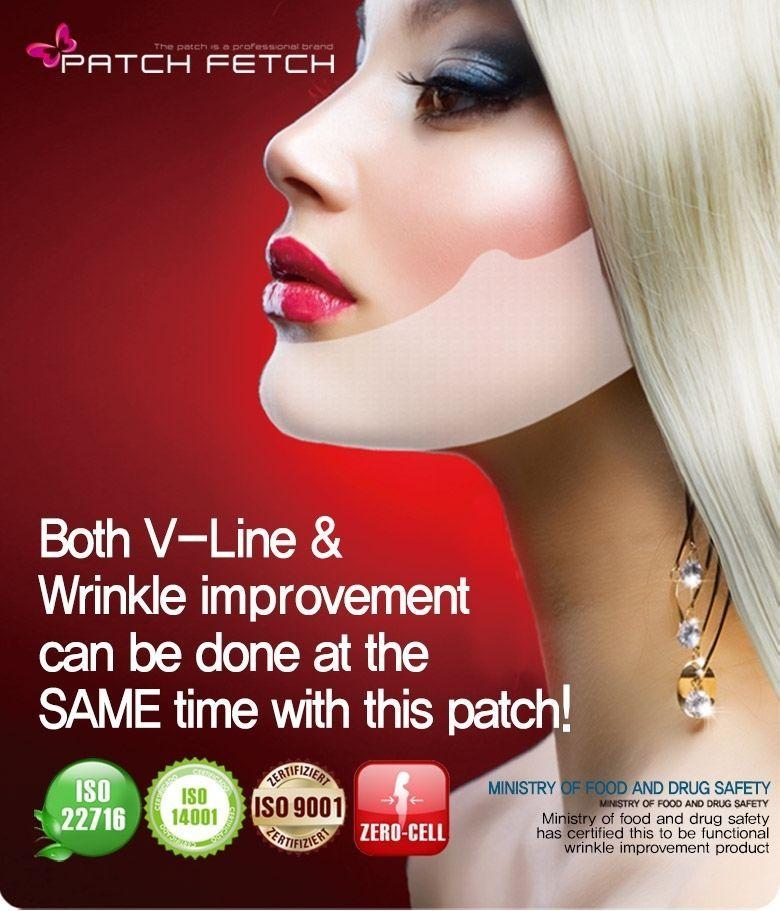 PATCH FETCH V-Line Slim patch Hydrogel Mask 12g*5ea Slim & Anti-Wrinkle K-Beauty #PATCHFETCH