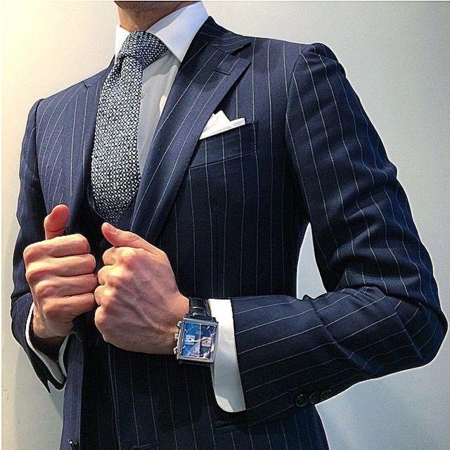 Great suit and tie combination.  www.memysuitandtie.com/ #mensfashion #men #mens #suit #grey #blue #green #black #tie #shirt #gentlemen