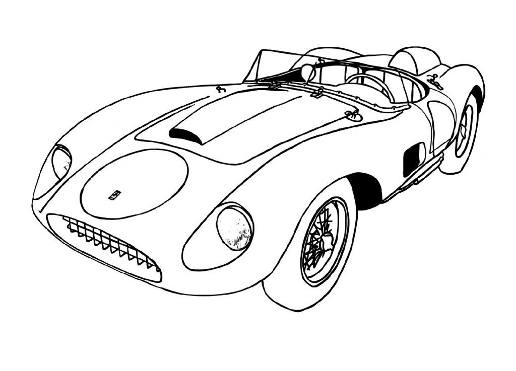 Cool Car Coloring Pages For Kids Race Car Coloring Pages Sports Coloring Pages Cars Coloring Pages