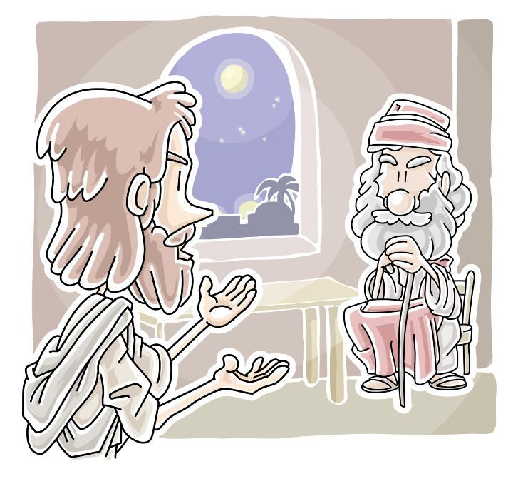 This Free Bible Lesson Is Based On John When Jesus Speaks To Nicodemus About Salvation And Living In The Light It Designed For Childrens Church Or