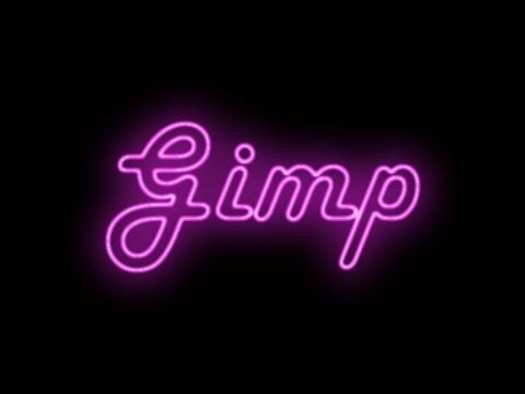 Gimp Tutorial - Un altro modo per scrivere un testo con effetto neon con l'aiuto del filtro Alfa a logotipo\Neon. Another way to write a text with neon effect with the help of the Alpha filter to logotipo\Neon.