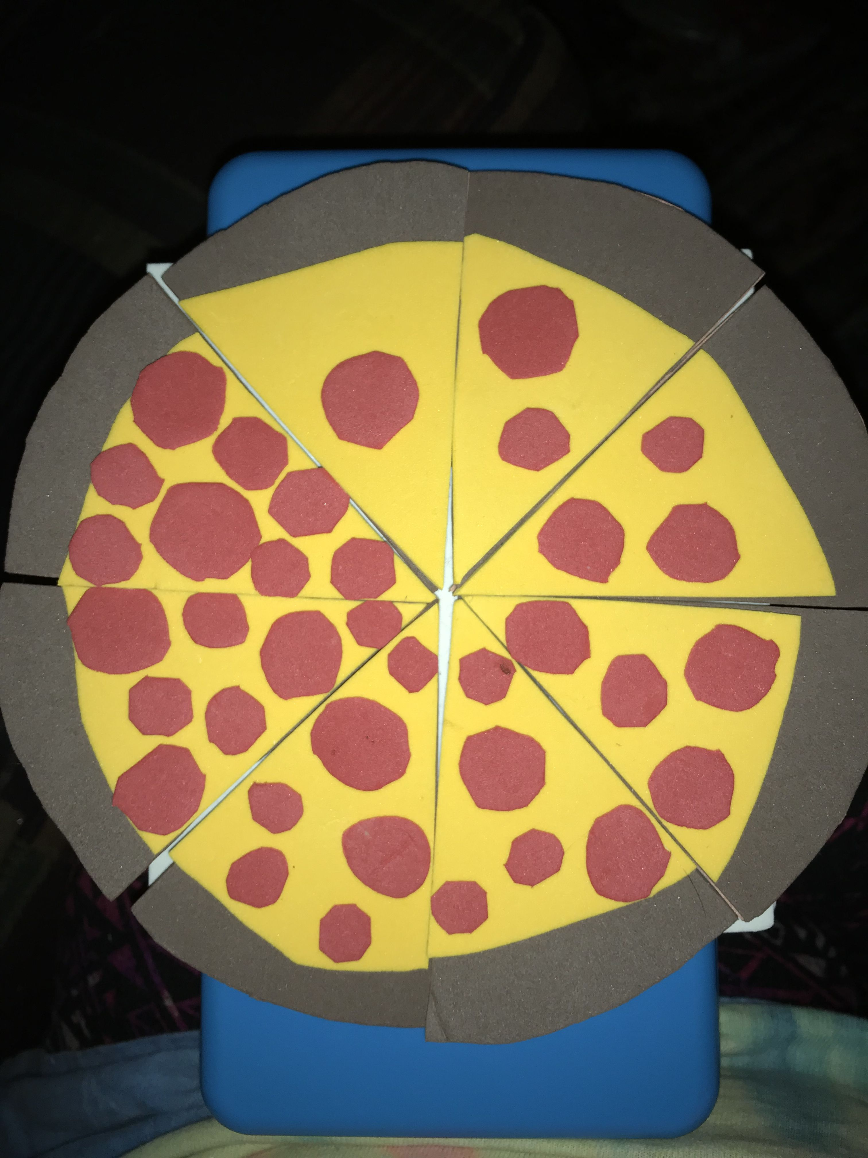 Learn To Count Pizza
