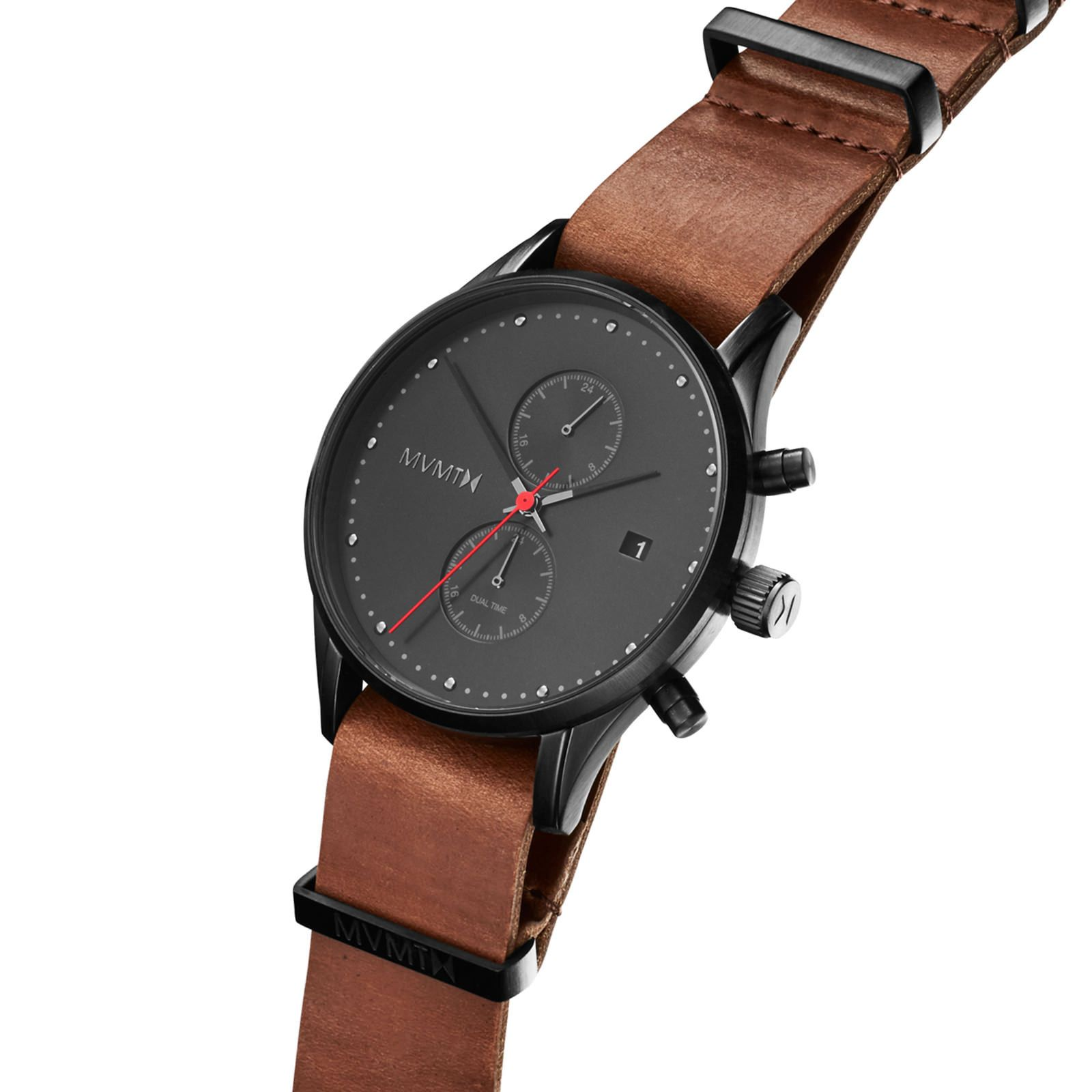 High quality mvmt watch product voyager sat watches mvmt watches leather for Mvmt watches