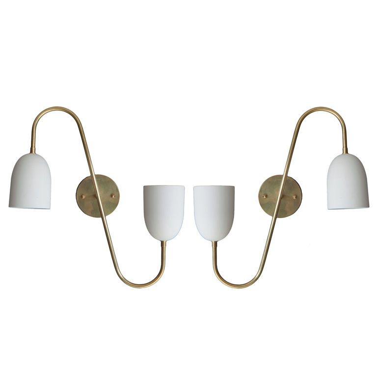 Pair of Arredoluce Sconces Wall sconces and Walls