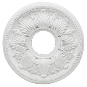 Westinghouse Bellezza 14 In White Ceiling Medallion