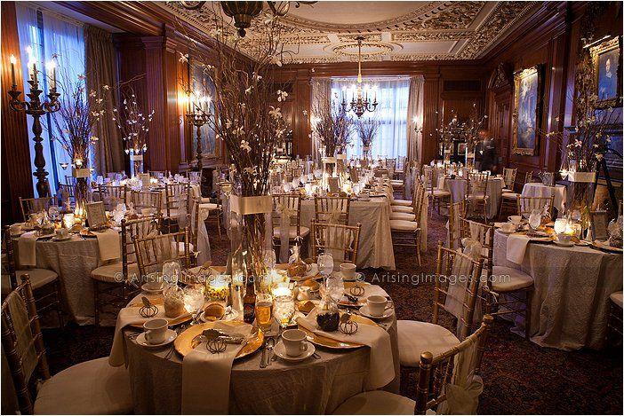 Meadowbrook Hall Meadowbrook Reception Hall Reception Decorations