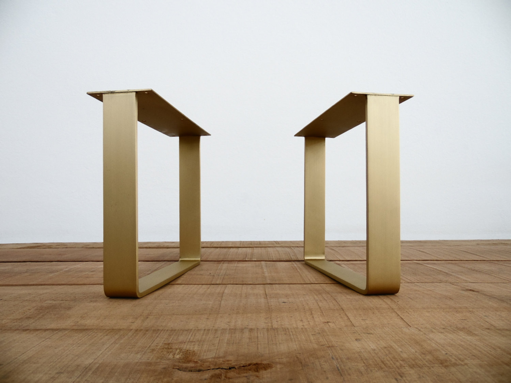 16 Quot Flat Brass Table Legs In 2019 Brass Table Legs And