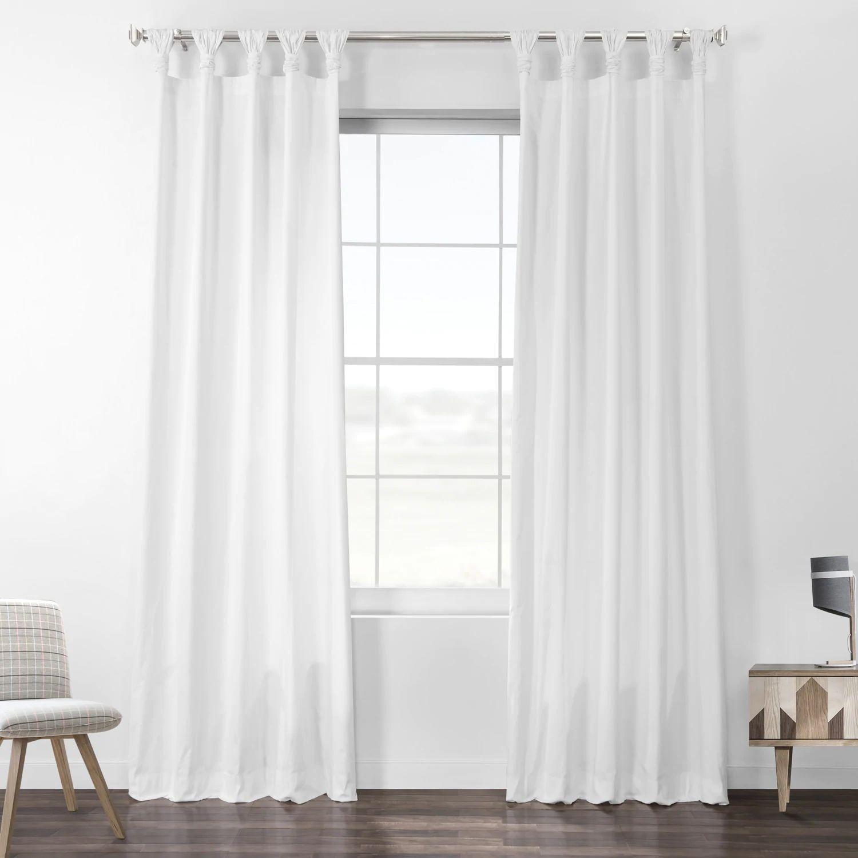 Find Solid White Curtains In Sheer Silk Cotton Velvet