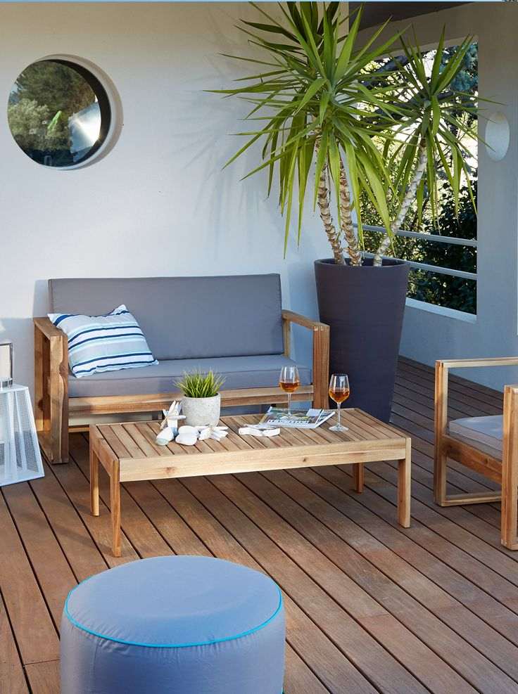 Salon de jardin Paname | Terrasses \ Balcons | Pinterest | Salon ...