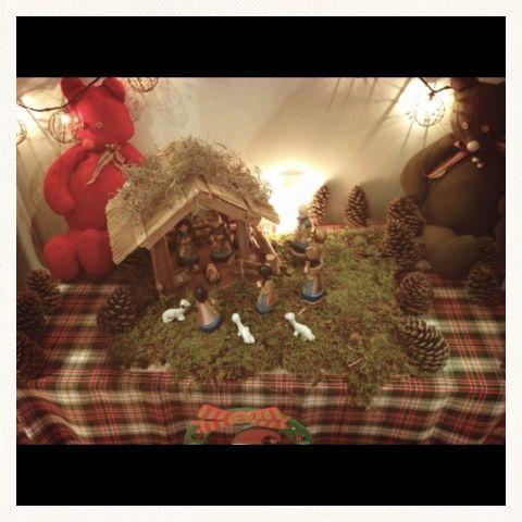 Decoración navideña casera