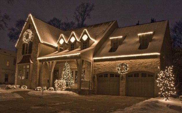 Outdoor Christmas Lights Ideas.The Best 40 Outdoor Christmas Lighting Ideas That Will Leave
