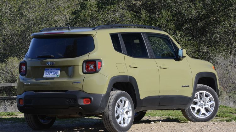 2015 Jeep Renegade Latitude In Commando Green Carros Legais