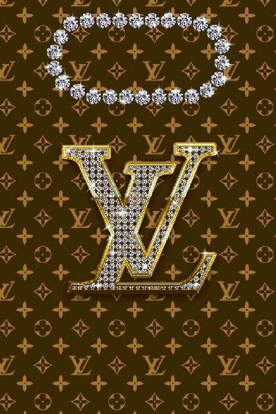 Louis vuitton wallpaper gold