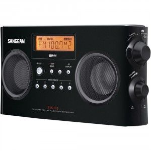 2 Sangean AM FM Portable Radio With Digital Tuning And RDS