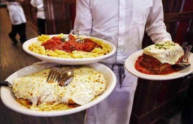 #CarminesNY un buen restaurante, con platos enormes a buenos precios!!!