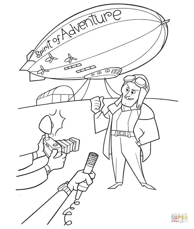 Spirit-Adventure-using the airship as a guide for our UP