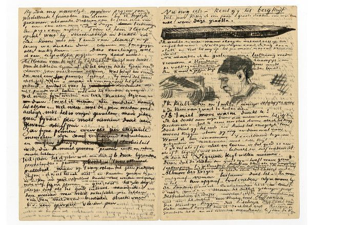 The Written Word Van Gogh Words Gogh