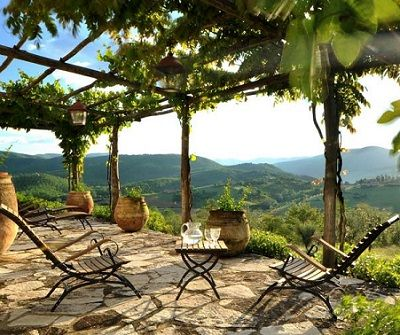 Outdoor Living Furniture Patio Chairs Pergola Tuscan Style Stone