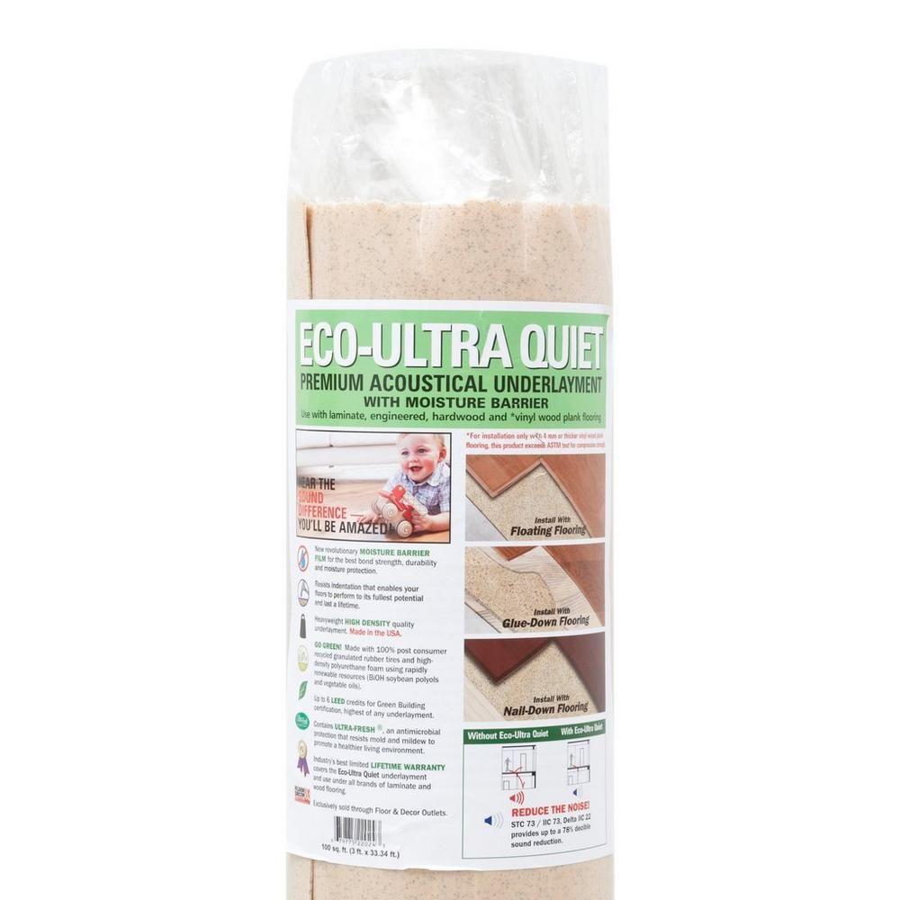 Eco Ultra Quiet Premium Acoustical Underlayment | Basement Ideas
