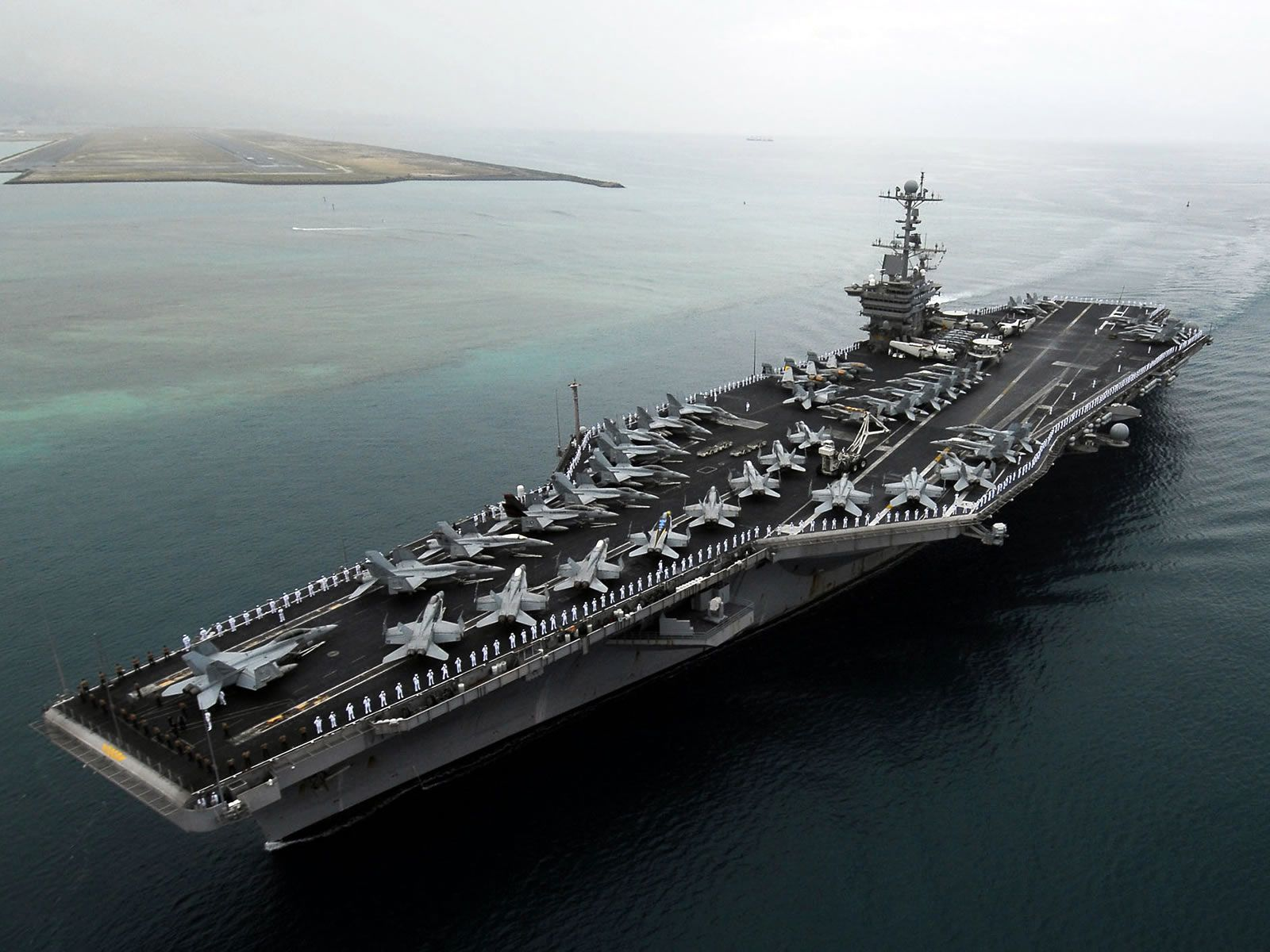 I think aircraft carriers are the bomb!