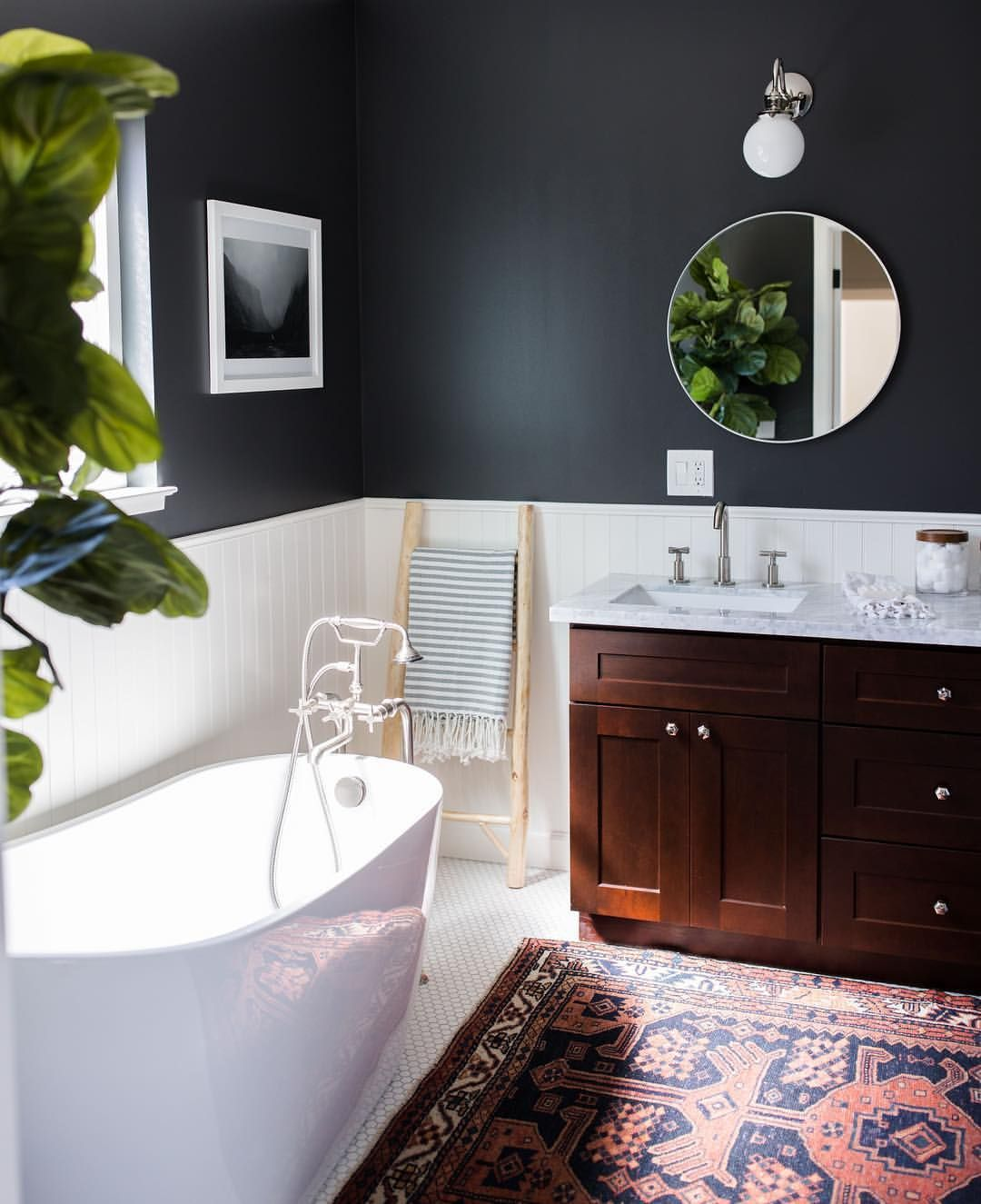 wooninspiratie-badkamer-tapijt-manman - Homestead   Pinterest - Badkamer