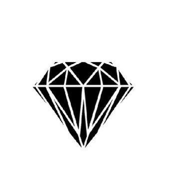 Black Diamond Tattoo Google Search Black Diamond Tattoos Iconic Album Covers Diamond Tattoos
