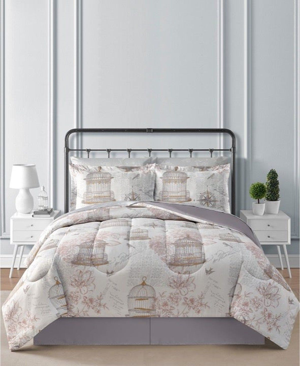 Bird cage Luxury 8-Pc. Comforter Bed Set