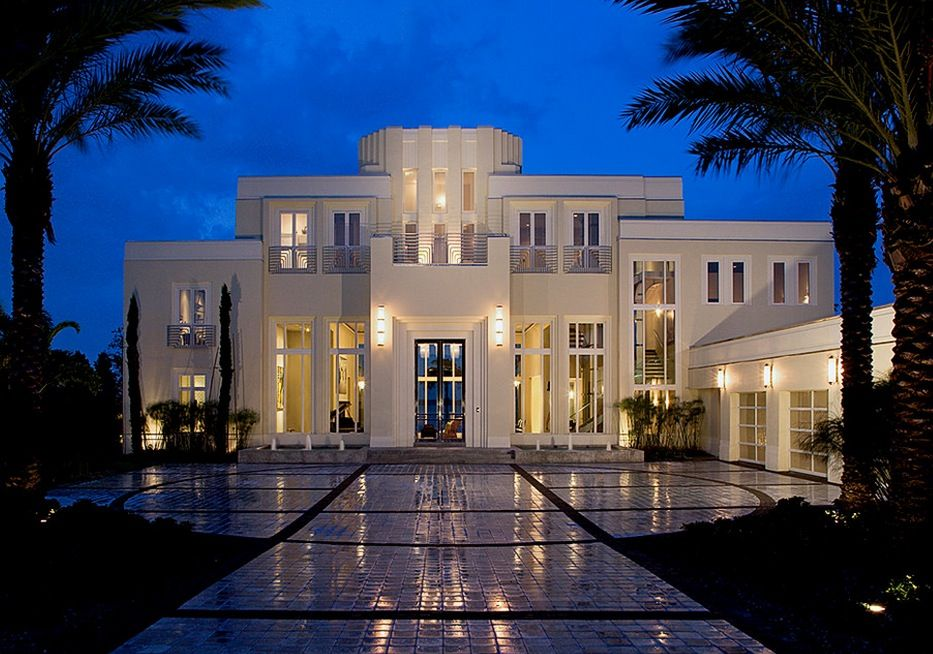 10 Hot Trends For Adding Art Deco Into Your Interiors Freshome Com Fancy Houses Luxury Homes Dream Houses Mansions