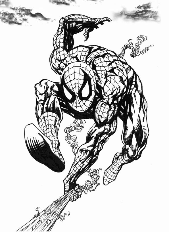 The Amazing Spider Man Coloring Pages Onlinespidergames