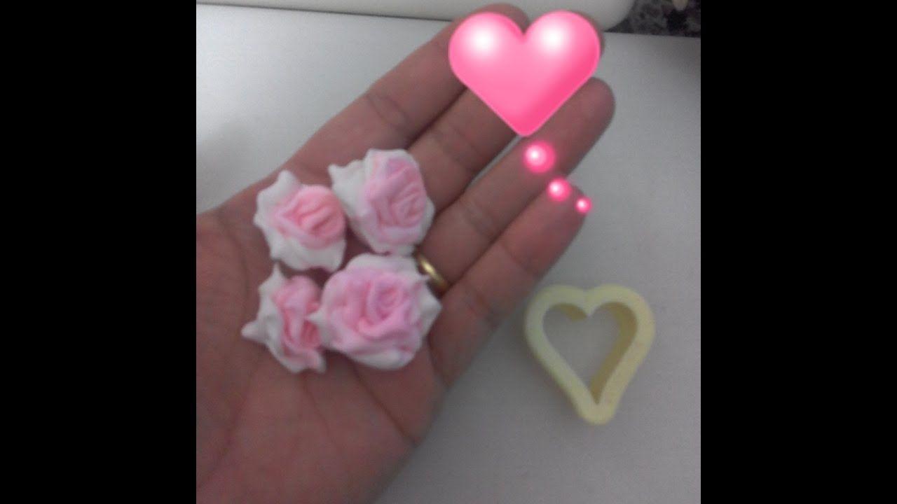 DICAS DE FLAVITA - Rosas com cortador de coração