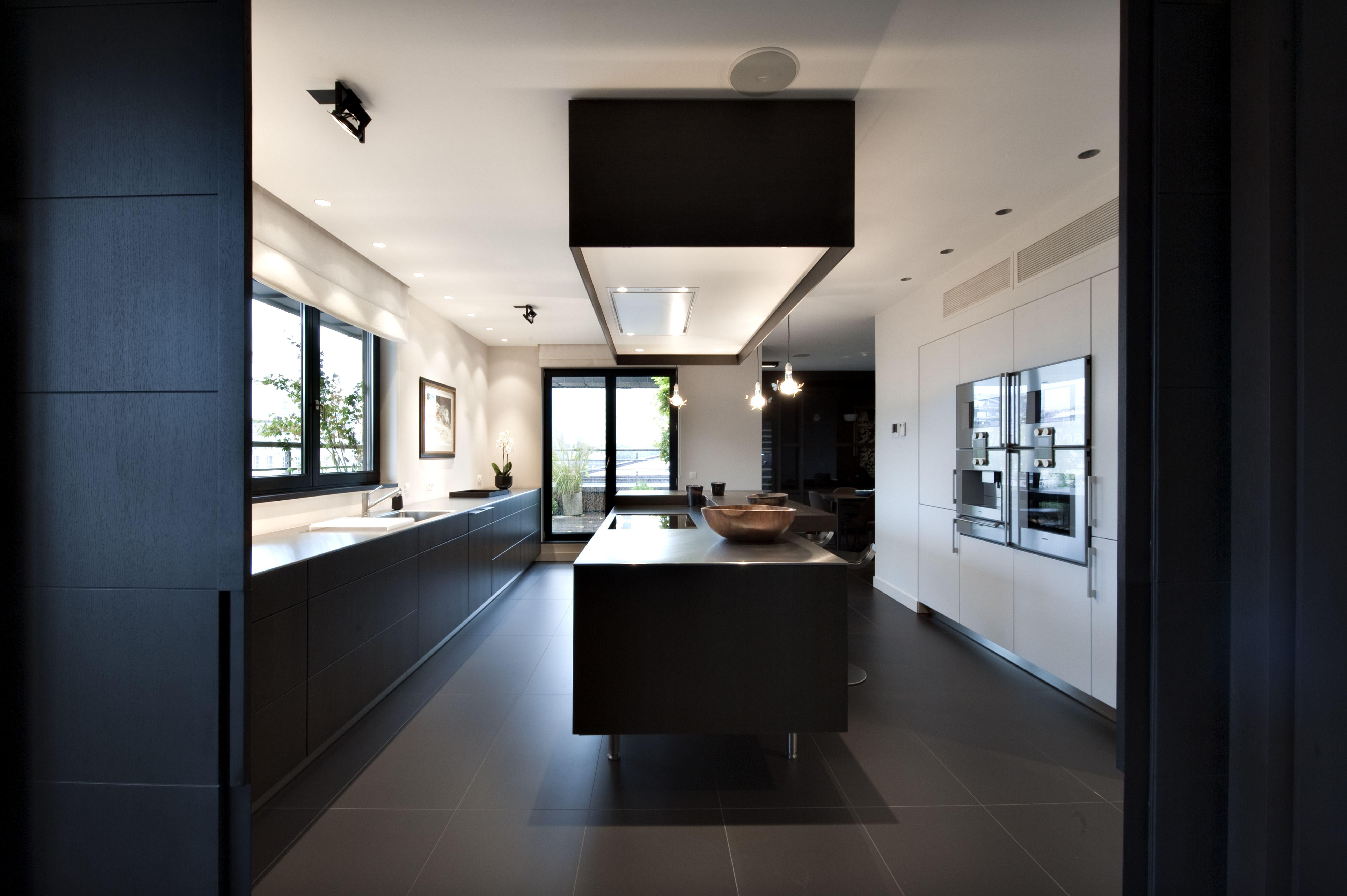Bulthaup cuisine b3 réalisation par the kitchen bulthaup belux