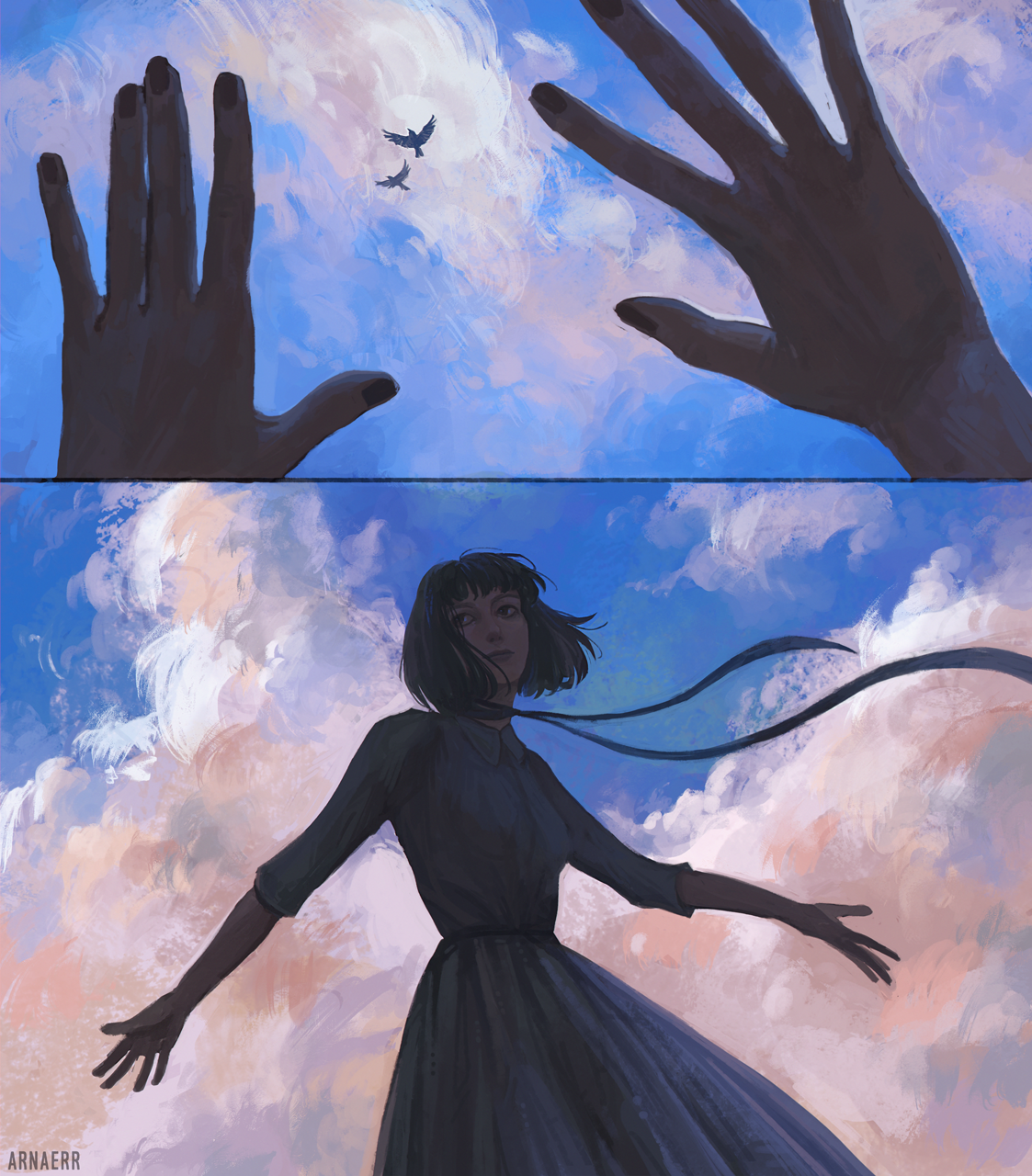 Voices In The Sky by arnaerr on DeviantArt