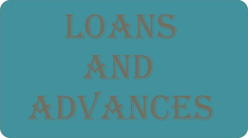 Loans and advances accounts advance accounting debt