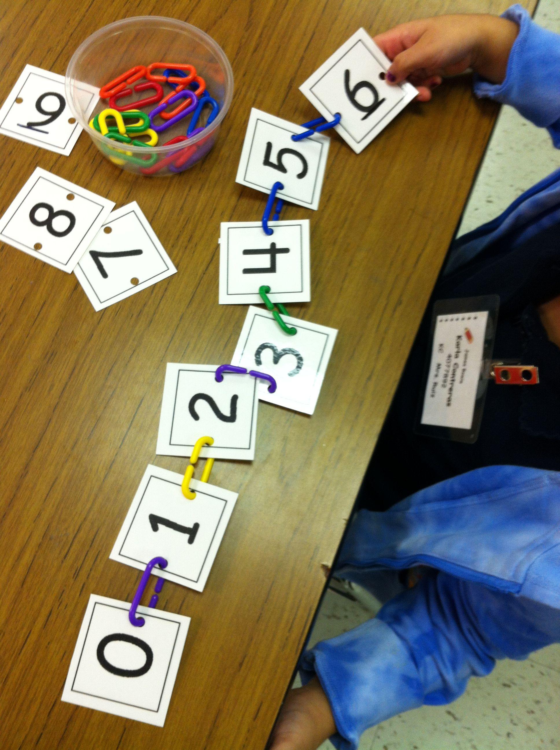 Number Order Game