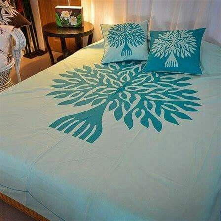 Applic Designer Bed Sheets Embroidery Theme Painted Beds