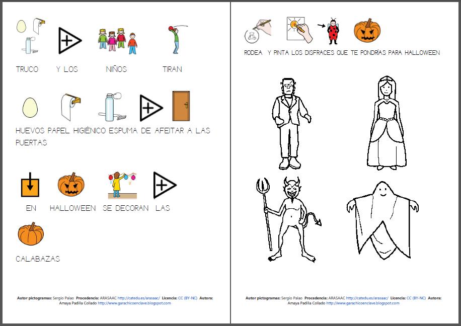 Halloween: completo material para trabajar el tema de Halloween ...
