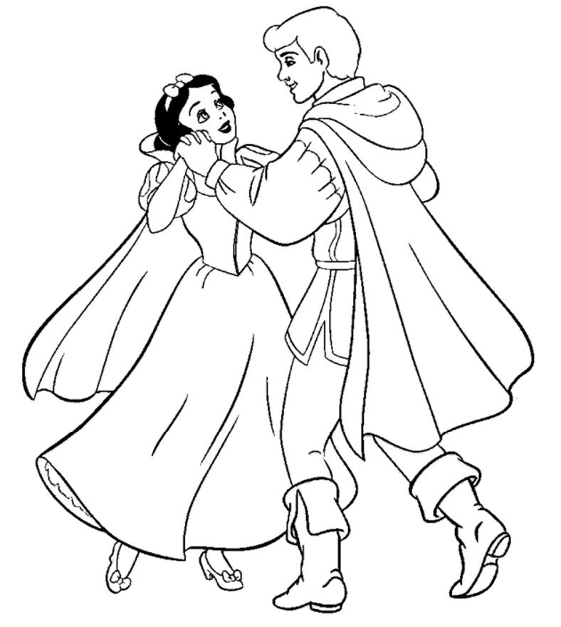 Pin by Coloring Fun on Snow White & The Seven Dwarves | Pinterest ...