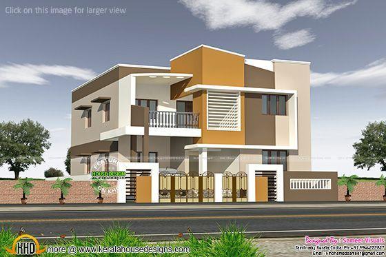 Kerala Home Design And Floor Plans Modern House Designs House Balcony Design Kerala House Design House