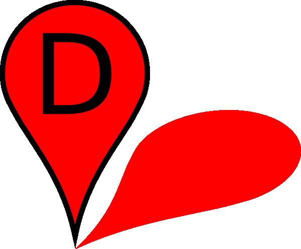 Map Pin D