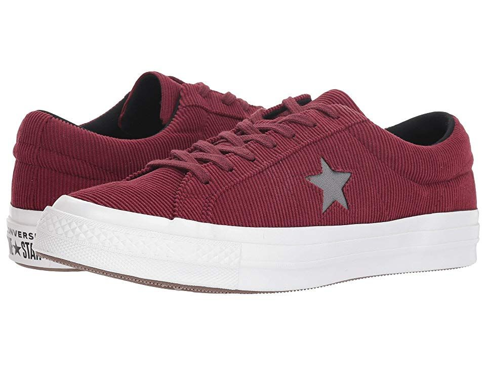 Corduroy Ox Shoes Dark Burgundy/Mason