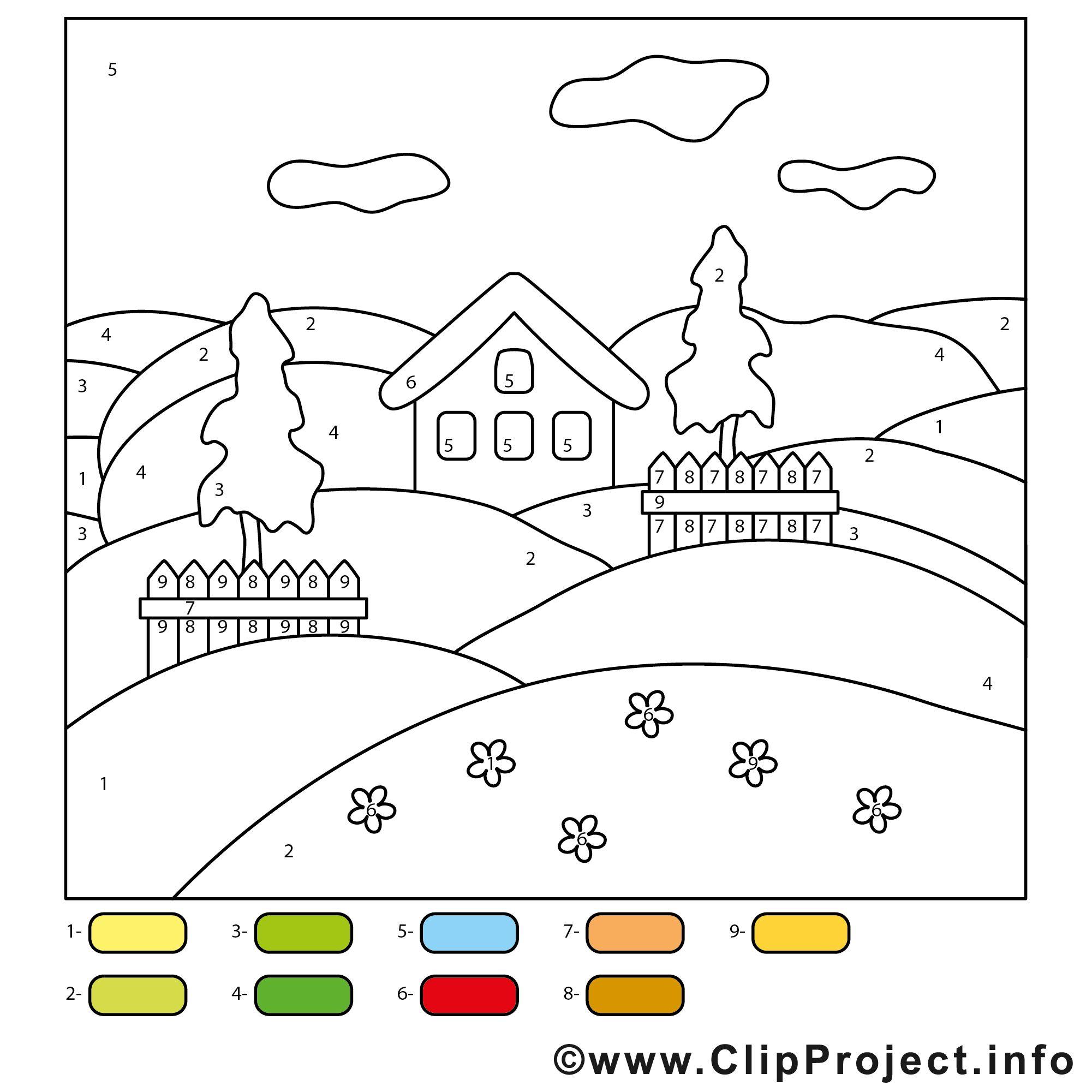 Malen Nach Zahlen Ausmalbilder Für Kinder Ausmalen