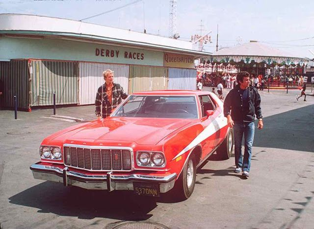 The Fast and Furious: Custom Car: Starsky and Hutch (Ford Gran ...