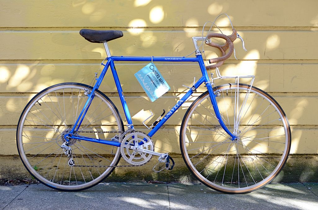 My Univega Specialissima Grand Touring Bicycle Touring Bicycles