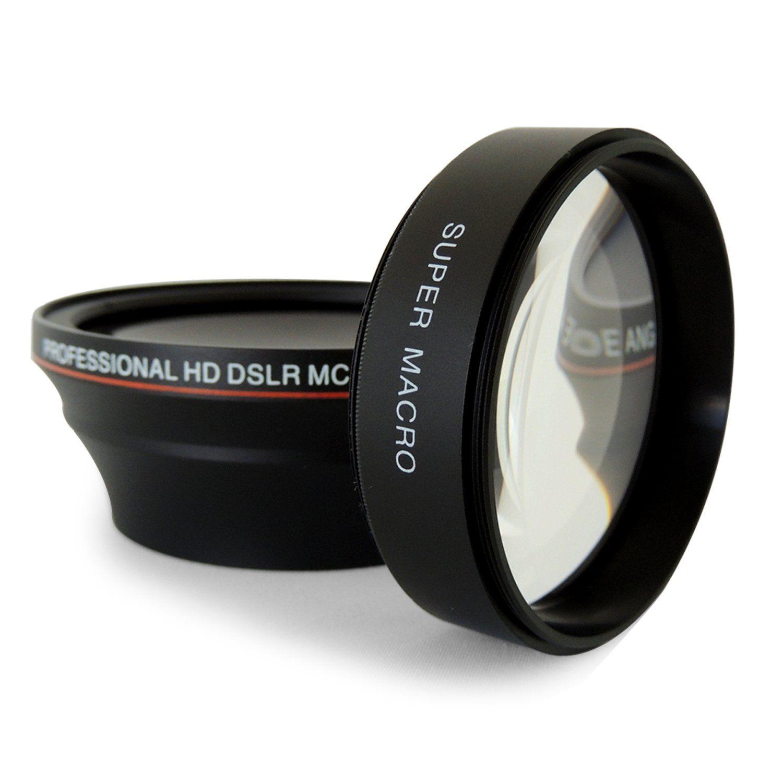 Amazoncom 52mm 043x Altura Photo Professional Hd Wide Angle Lens