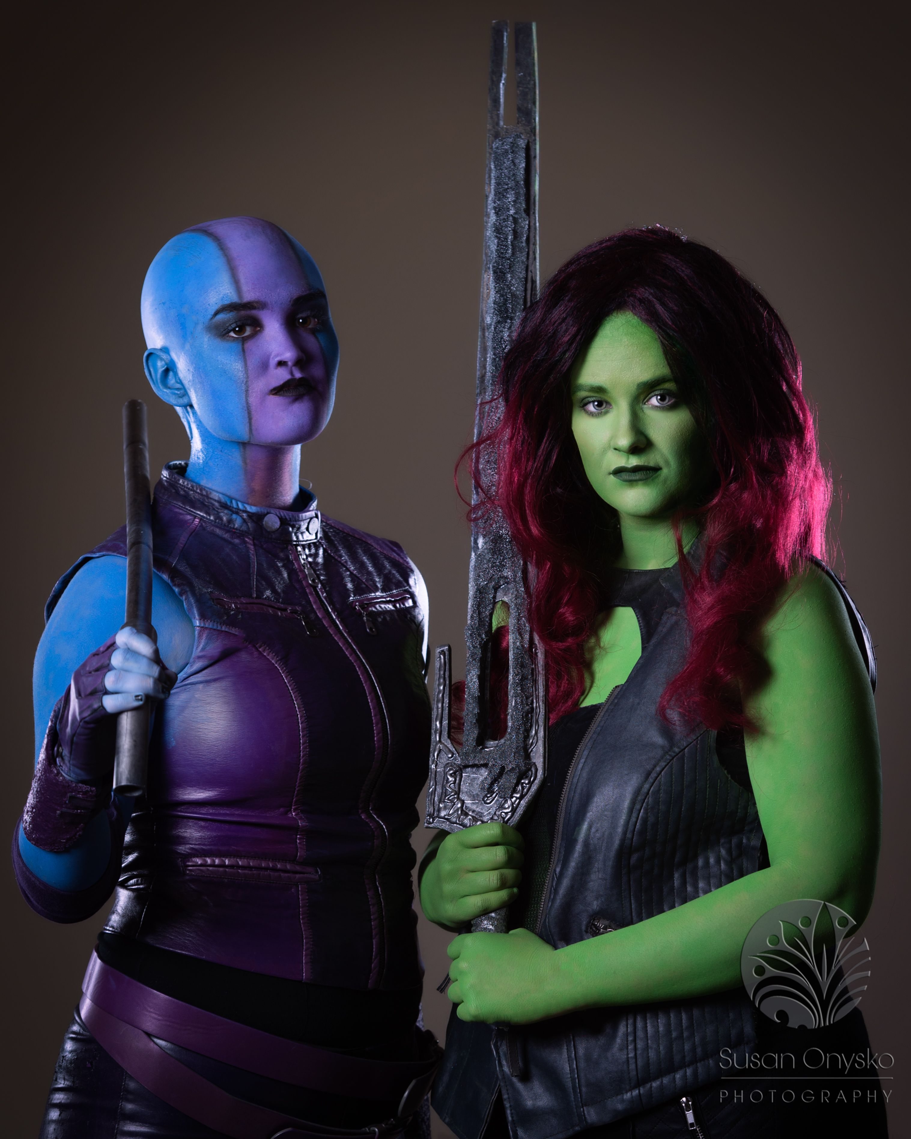 The best Nebula cosplay youll see from Guardians of the