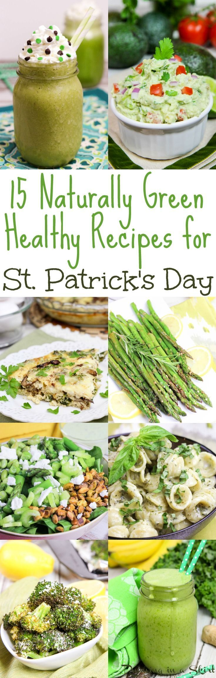 15 naturally green healthy st patricks day recipes 15 naturally green recipes for st patricks day these are easy st patricks forumfinder Images