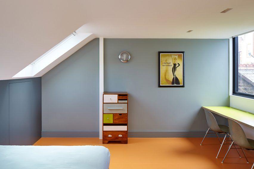 Kennington House By R2 Studio Architect Home Minimalist Room Loft Conversion