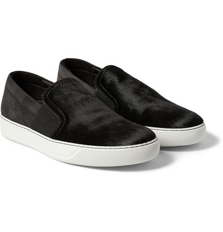 Lanvin Slip-on Sneaker suede leather Cheap Sale With Paypal Discount Geniue Stockist Lowest Price Sale Online Cheap Sale How Much sSTlaaHUb